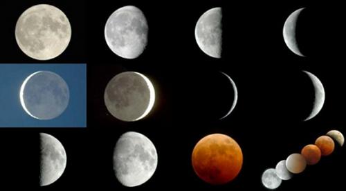 اسفند به ماه قمری