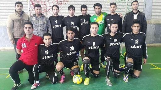 تیم فوتسال ستارگان سلماس بر تیم البرز پیرانشهر غلبه کرد
