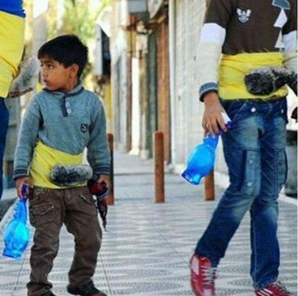 خوشبخترین مردم ایران ساکن اینستاگرام هستند! / ماجرای سنگ به شکم بستن کودکان کار چیست؟