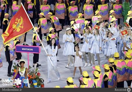 رژه در المپیک با لباس هری پاتر +عکس