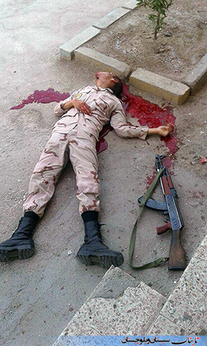 خودکشی سرباز وظیفه در خاش+ عکس