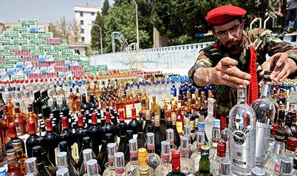 چراغ قرمز مصرف الکل در ایران