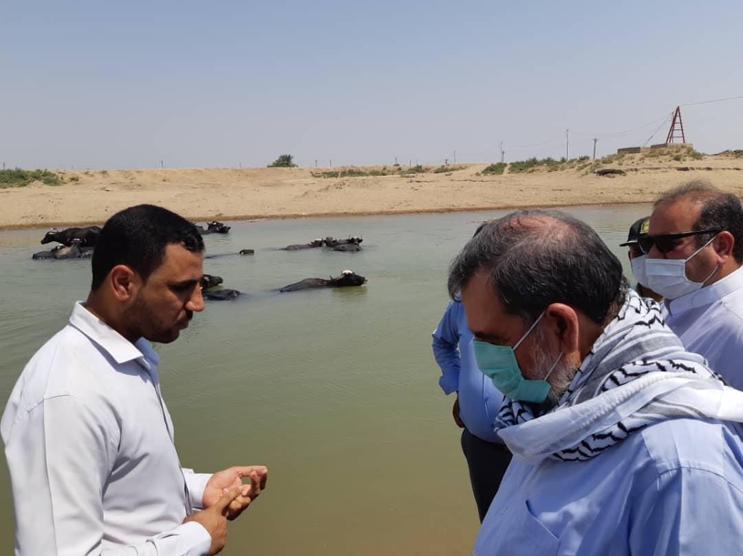گزارش تصویری تابناک خوزستان از سفر دکتر رضایی به خوزستان و حضور در هویزه