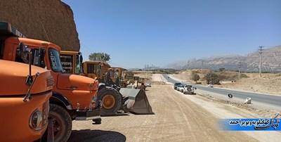 توقف کامل پروژه و ماشین آلاتی که در بخشی از پروژه متوقف هستند!